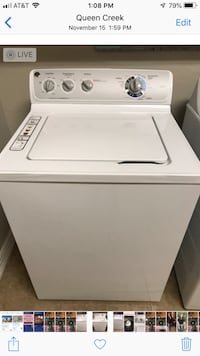 white top-load clothes washer Queen Creek, 85142