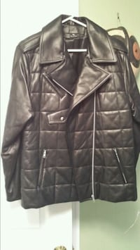 New Black Quilted Michael Clifford Jacket