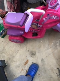 toddler's pink and purple ride on ATV Severn, 21144