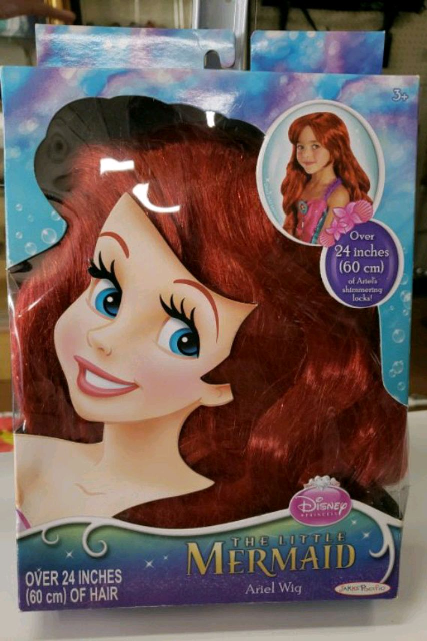 Photo The little mermaid wig