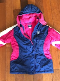 Girls winter jacket fleece lined warm size 6 Osh Kosh Mississauga, L5K