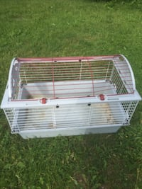 white and red pet cage Barrie