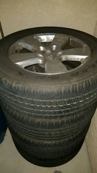 """20"""" wheels and tires Henderson, 89074"""