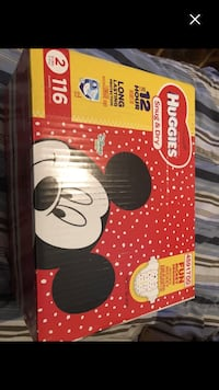Brand new box of diapers size 2# Montréal, H4E