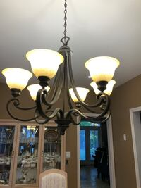 6 light chandelier  Toronto, M6L 2H1