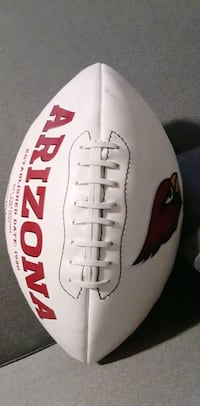 Authentic NFL signed cardinals football