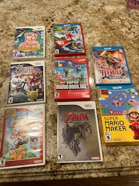8 Wii and Wii U games