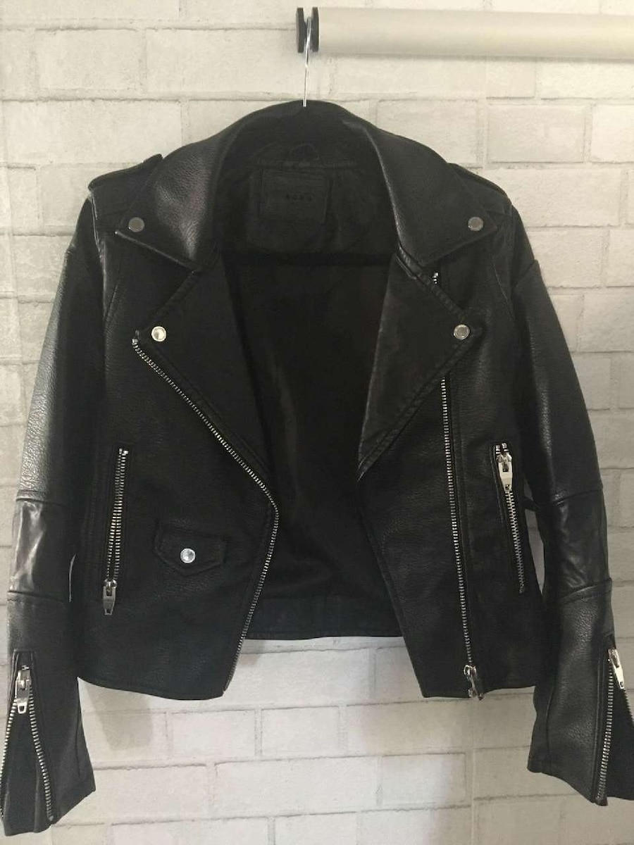7 diamonds los angeles leather jacket