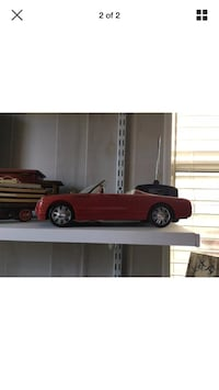 red convertible die-cast model screenshot Lumberton, 08048
