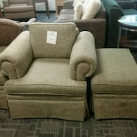 Chair and ottoman from king Edward  Oakville, L6L 5N1