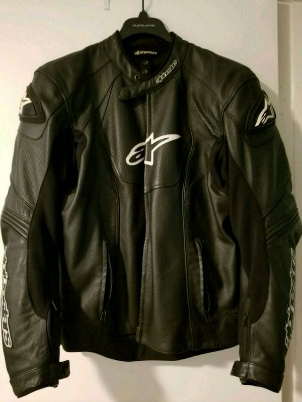 Alpinestars Motorcycle Jacket >> Milpitas Icinde Ikinci El Satilik Alpinestars Leather Motorcycle