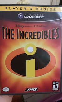 The Incredibles GameCube game.