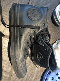 Converse Limitied Edition All Black Skinn Oslo, 0987