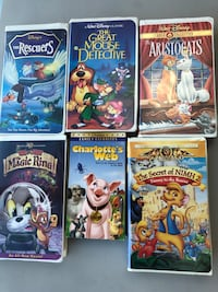 VHS Lot or Individual Woodbury, 55125