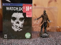 Watch Dogs Sony PS4 character action figure with b Pickering, L1V 1G3