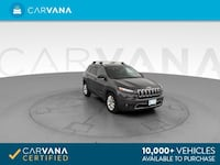 2014 Jeep Cherokee suv Limited Sport Utility 4D GRAY Brentwood