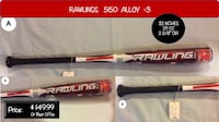 Rawlings Baseball Bat Lenoir City