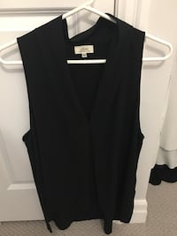 WILFRED Black tank, size large Toronto, M6C 1A2