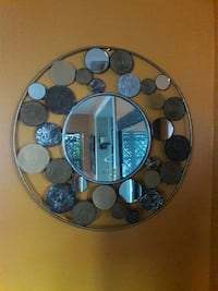 coin framed round wall mirror Miami, 33145