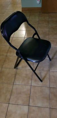 Padded folding chairs.  Vaughan, L6A 2M8
