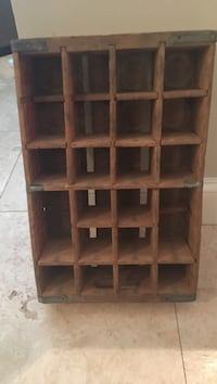 Old wooden Pepsi crate