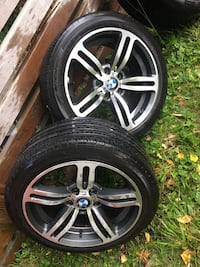 BMW summer tires and rims 225/45/17 only two set best offer 90% thread Waterloo, N2K 3M6