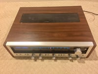 Vintage Pioneer Stereo Receiver SX-636 Silver Spring
