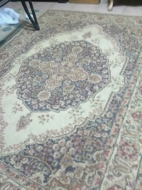 white, brown, and black floral area rug Jackson, 39206