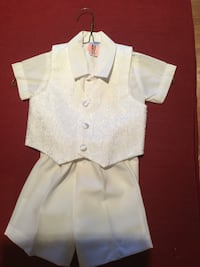 Christening Outfit/Suit Boys White (Size XL) Stamford, 06902