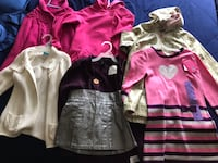 Girls clothes size 5.