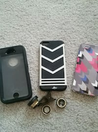Iphone 5/ ipod 5 cases and camera lense  Hubert, 28539