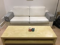 Couch and coffee table combo. Toronto, M6B 2K8