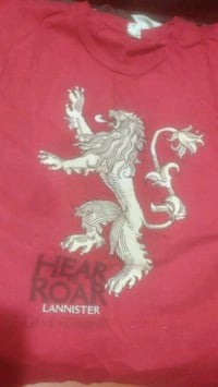 Game of thrones house Lannister tee
