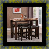 5pc Pub table with 4 stools Bladensburg, 20710