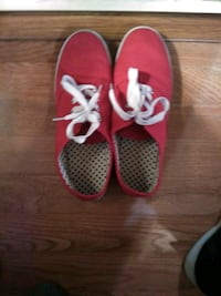 Red Tennis Shoes Worn Once Size 9 La Verne, 91750