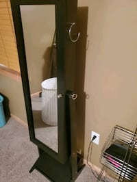 Standing jewelry armoire with mirror - brand new Grimes, 50111