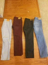 $15 Apiece Name Brand Jeans Size 36 Great Condition