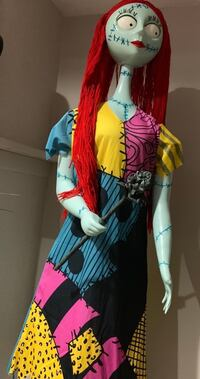 Sally doll 5 8 ft tall. Price is negotiable she sings and moves here eyes 562 mi