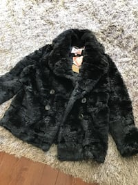 Brand new Juicy Couture Black Faux Fur Coat Springfield, 22153