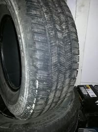 4 tires size is 265 70 16 Burnaby, V5J 3J1
