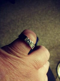 A Sterling Silver Cz Promise Ring 86 mi