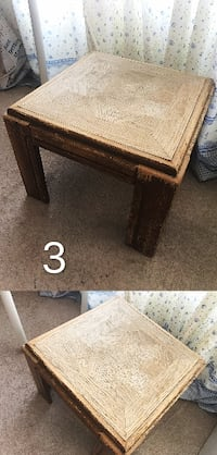 Wooden side tables/ end tables 埃德蒙顿