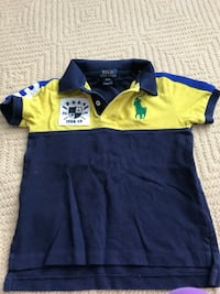 yellow and blue polo shirt Frederick, 21702