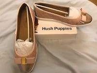 Hush Puppies pink and gold shoes Mississauga, L5B