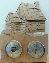 Hand Crafted Weather Station & Wall Decor