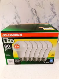 new ultra LED Sylvania light bulbs. Ottawa, K1L 6S7