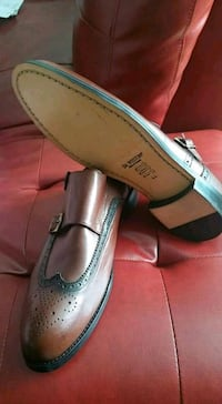 pair of brown leather loafers Gatineau, J8Y 3T4