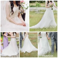 Elegant Wedding Gown - Used Once Richmond