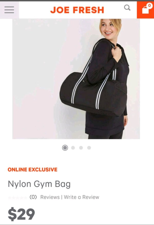 New Gym/duffel bag 0