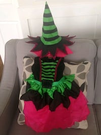 Girls Witch Costume Size 2-3 Langley City
